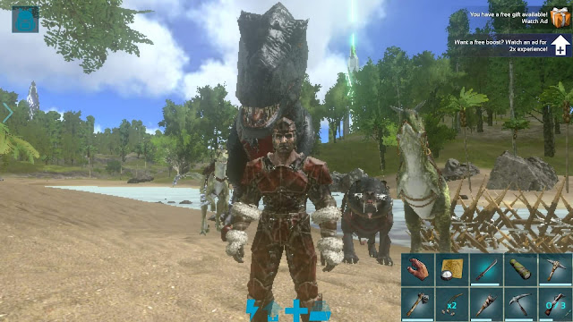 cheat ark survival evolved android terbaru