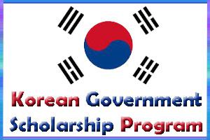 منحة ممولة مقدمة من برنامج الحكومة الكورية KGSP لإجراء الدراسات المتقدمة في كوريا
