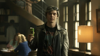 My running hero Quicksilver in the X-Men movies.