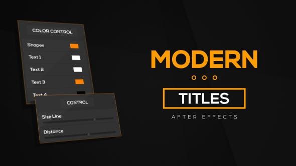 Download Template Title Animasi After Effects Gratis - Title Pack VideoHive