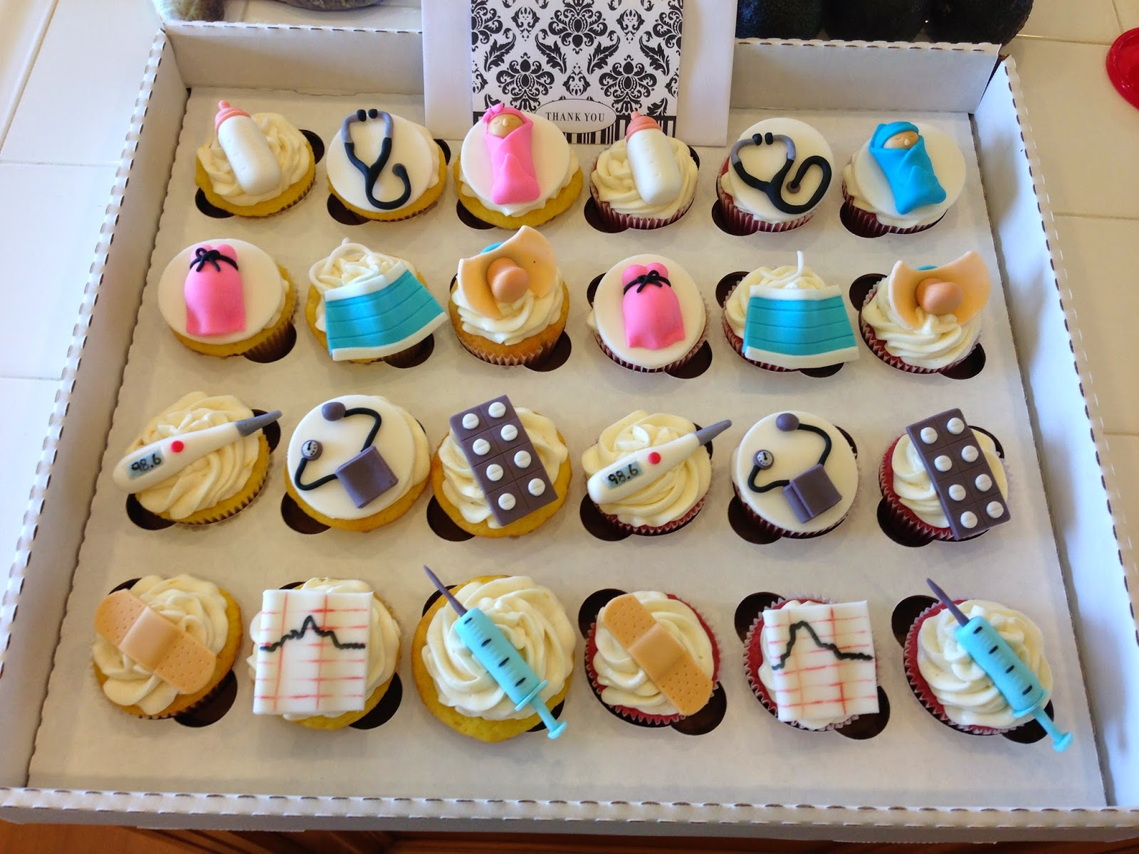 Kaylynn Cakes Thank You Cupcakes