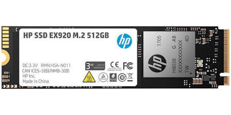 HP EX920 512 GB