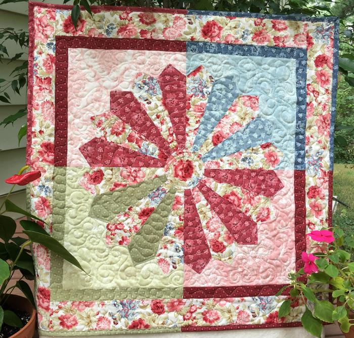 Dresden Quilt Patterns Free : Debby Kratovil Quilts: Dresden Garden FREE pattern