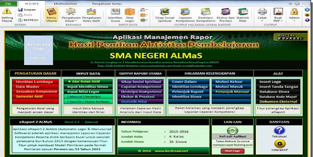 Download Aplikasi Raport SMA