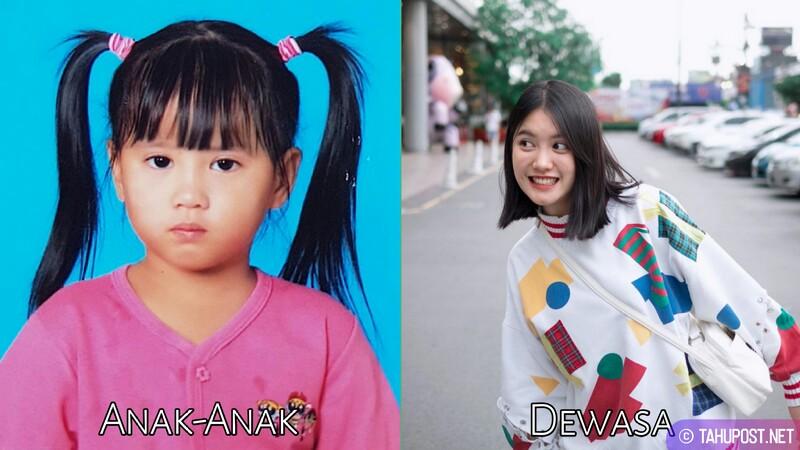Foto masa kecil artis cantik Thailand - Phantira Pipityakorn