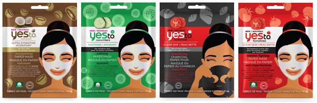 This week I'm obsessed with... Yes To Single Use Paper and Mud Masks!