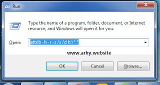 Cara mengembalikan folder yang sudah jadi shortcut
