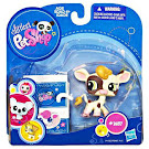 Littlest Pet Shop Collectible Pets Cow (#1457) Pet