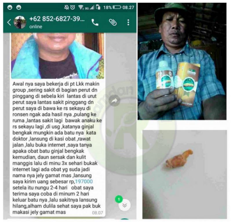 Testimoni Qnc Jelly Gamat Ginjal