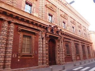 The Palazzo Fantuzzi in Bologna, where Respighi was born