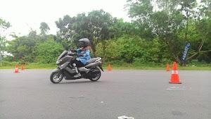 Grogi Mengemudi Bersama YRA (Yamaha Riding Academy) Jogja