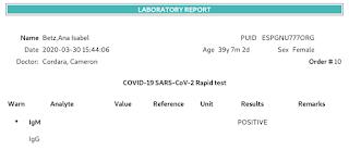Αναφορά αποτελέσματος SARS-CoV-2 στο GNU Health