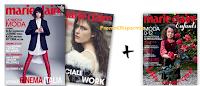 Logo Marie Claire: copia omaggio in edicola con 2 supplementi in regalo