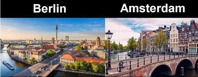 بالصور- 20 معلومة حقيقة مقارنة بين فرنسا وألمانيا