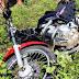 Acidente, envolvendo moto e Hilux deixa um morto, no Vale do Piancó; a moto se partiu ao meio