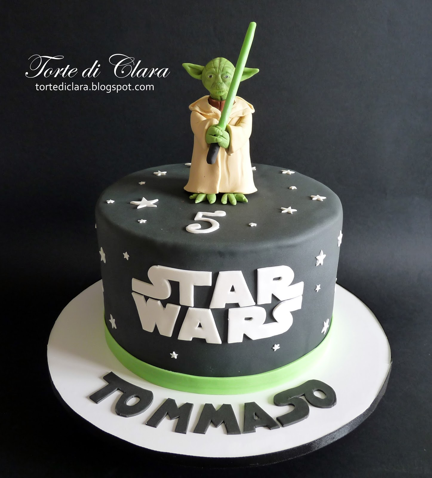 Ben noto Torte di Clara: Star Wars cake (2) ML88