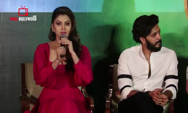 Urvashi Rautela with Riteish Deshmukh, Urvashi Rautela Breaks Down