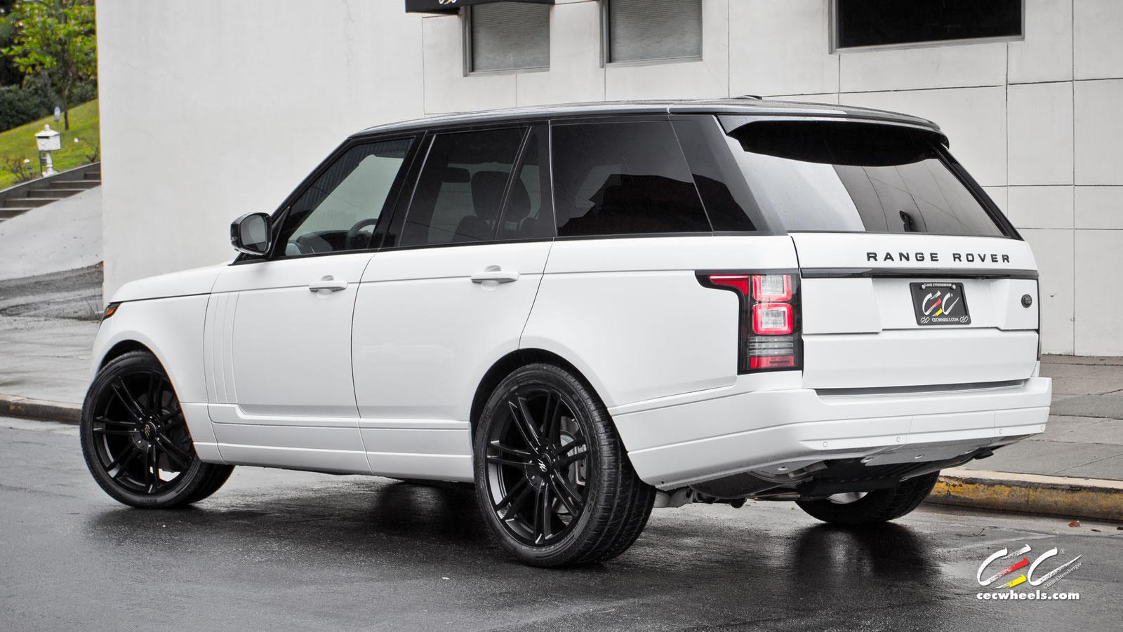 white range rover |MYAutoShowRoom