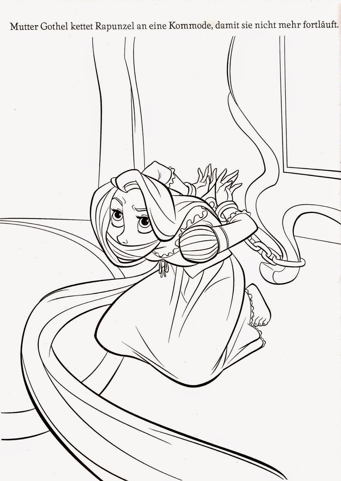 "Coloring Pages: ""Tangled"" Free Printable Coloring Pages of ..."