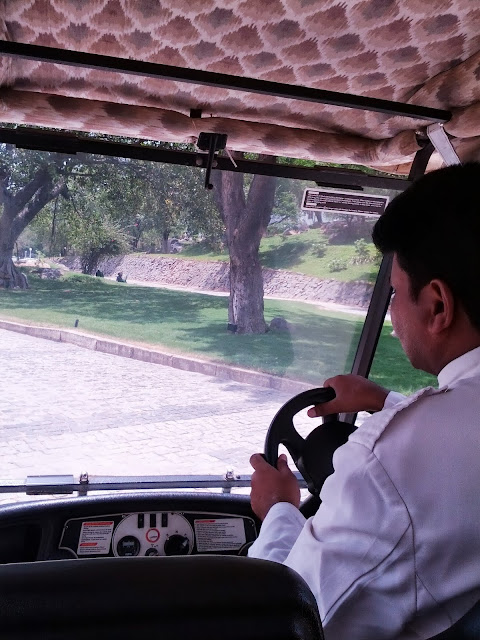 Falaknuma Palace golf cart driver