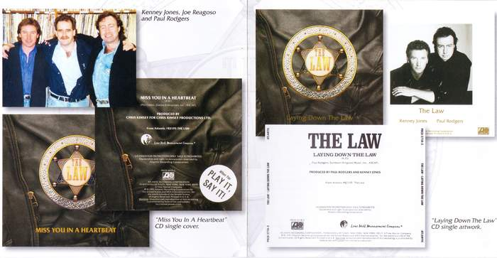 THE LAW - The Law [Friday Music Deluxe Edition Remastered] booklet