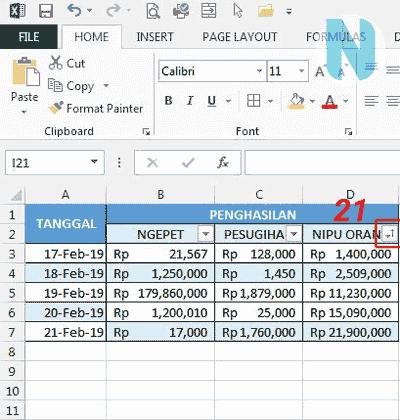 gbr.12 Cara Membuat Tabel Microsoft Excel Nandur93