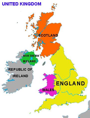 storbritannia kart Kart over Storbritannia storbritannia kart
