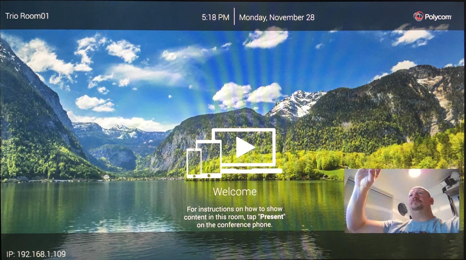 Randy's Lync, Skype, Teams and UC Blog: Hands On with the Polycom