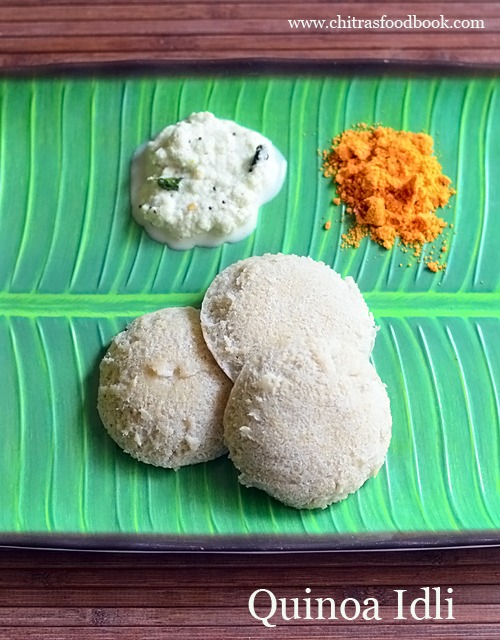 Quinoa idli recipe