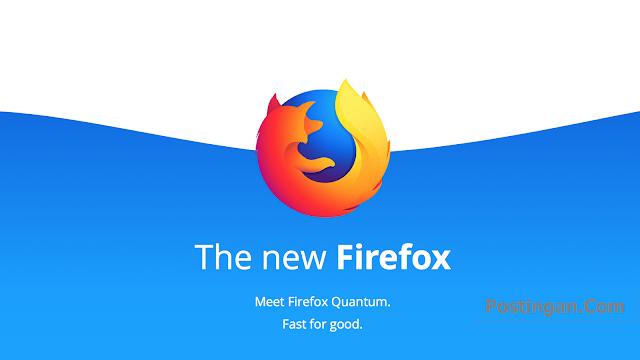 Firefox Quantum Browser Tercepat dari Mozilla