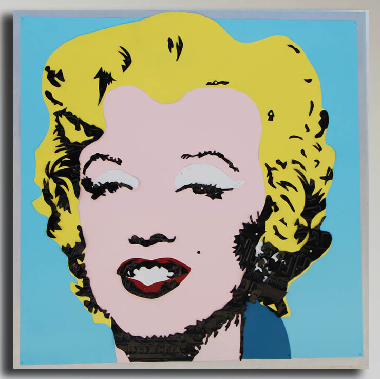 Andy Warhol's Marilyn by Michael Kalish