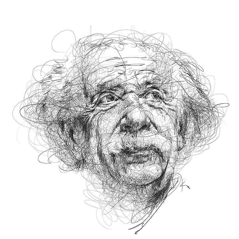 08-Albert-Einstein-Vince-Low-www-designstack-co