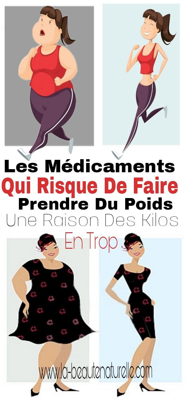 Les médicaments qui risque de faire prendre du poids, une raison des kilos en trop