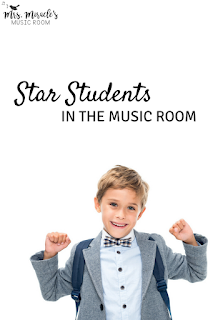 Star students in the music room: A positive classroom management system for your music lessons