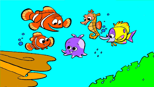 Finding Nemo Coloring Pages Nemo Coloring Book