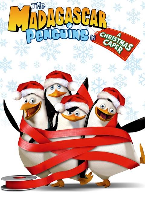 Pinguinet  e Madagaskarit në një kapelë të Krishtlindjeve Dubluar ne shqip
