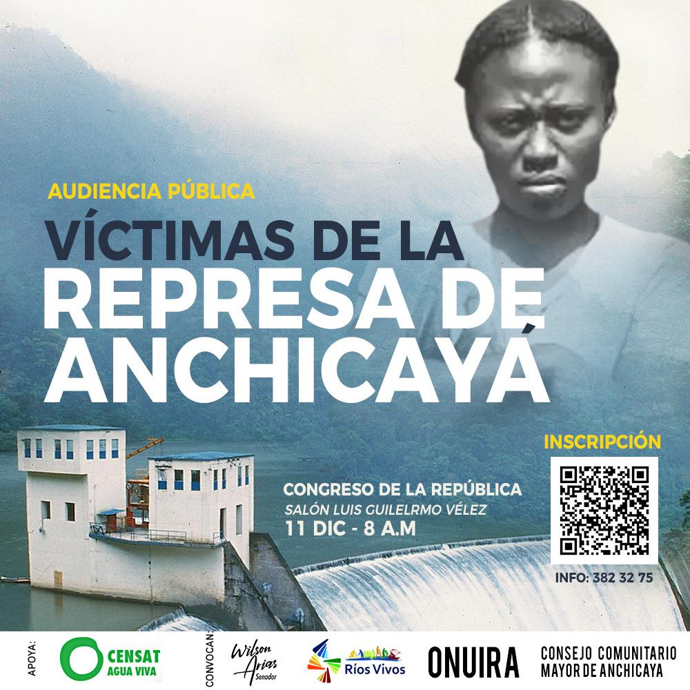 Audiencia Pública en el Congreso | Víctimas de Anchicayá siguen en la lucha por atentado ambiental