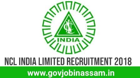 NLC India Limited Recruitment 2018, govjobinassam