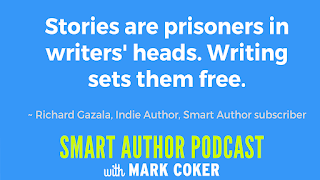 "image reads:  ""Stories are prisoners in writer's heads.  Writing sets them free."""