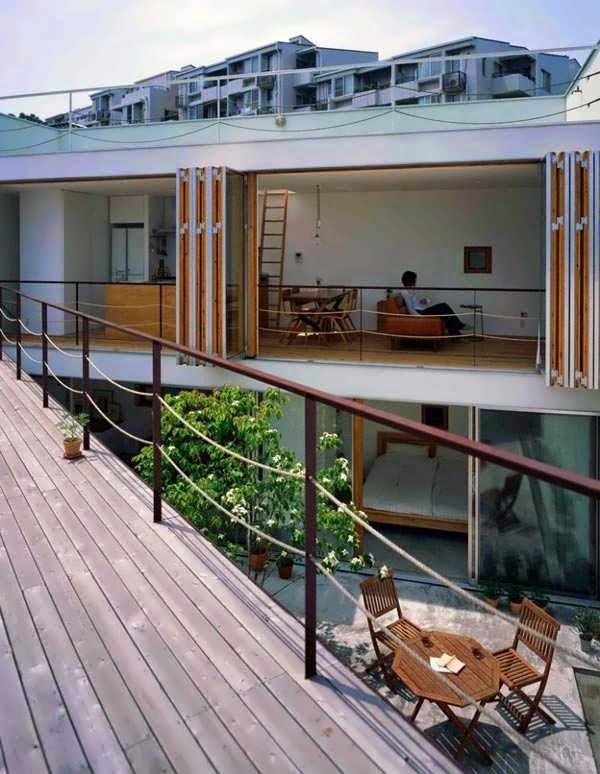 The Architectural Design Innovative Japanese Garden House Design