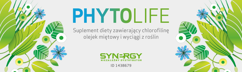 PhytoLife - Suplement z chlorofilem od Synergy WorldWide