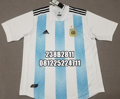 dae15d69bb4 jual jersey negara argentina home biru putih piala dunia world cup 2018 terbaru asli jersey .  Jersey Argentina Home Biru Putih Piala Dunia 2018