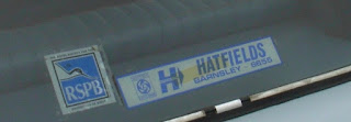 Hatfields Barnsley rear window sticker