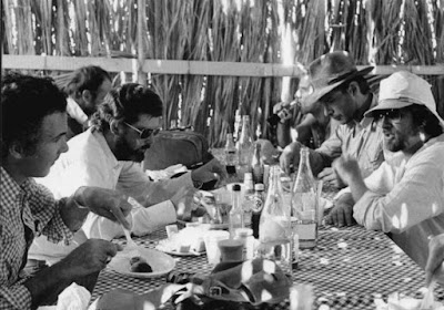 behind the scenes raiders of the lost ark meal time
