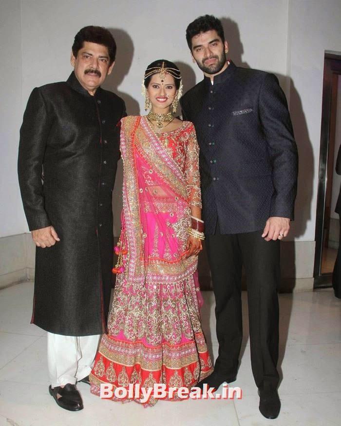 Pankaj Dheer, Kratika Sengar, Nikitin Dheer, Nikitin Dheer, Kratika Sengar Wedding Pics