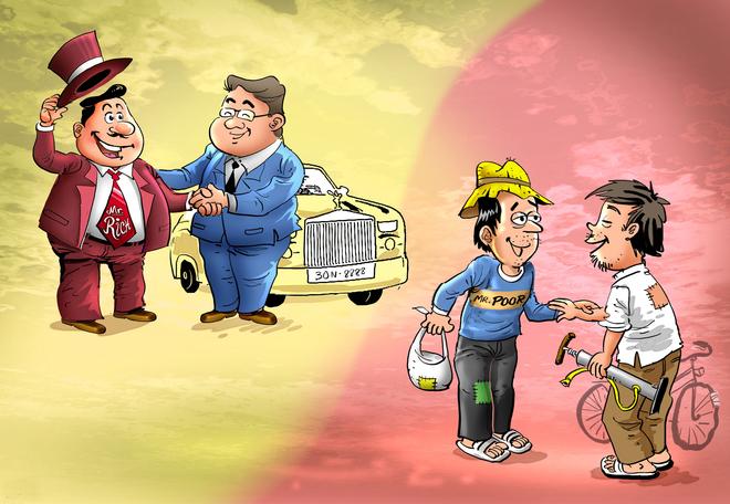 người giàu thường kết giao với ai?