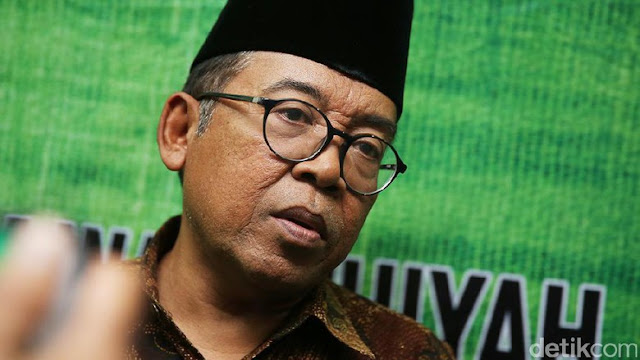 KH Masduki Baidlowi Imbau Peneriak 'Ganti Presiden' Minta Maaf ke Habib Luthfi