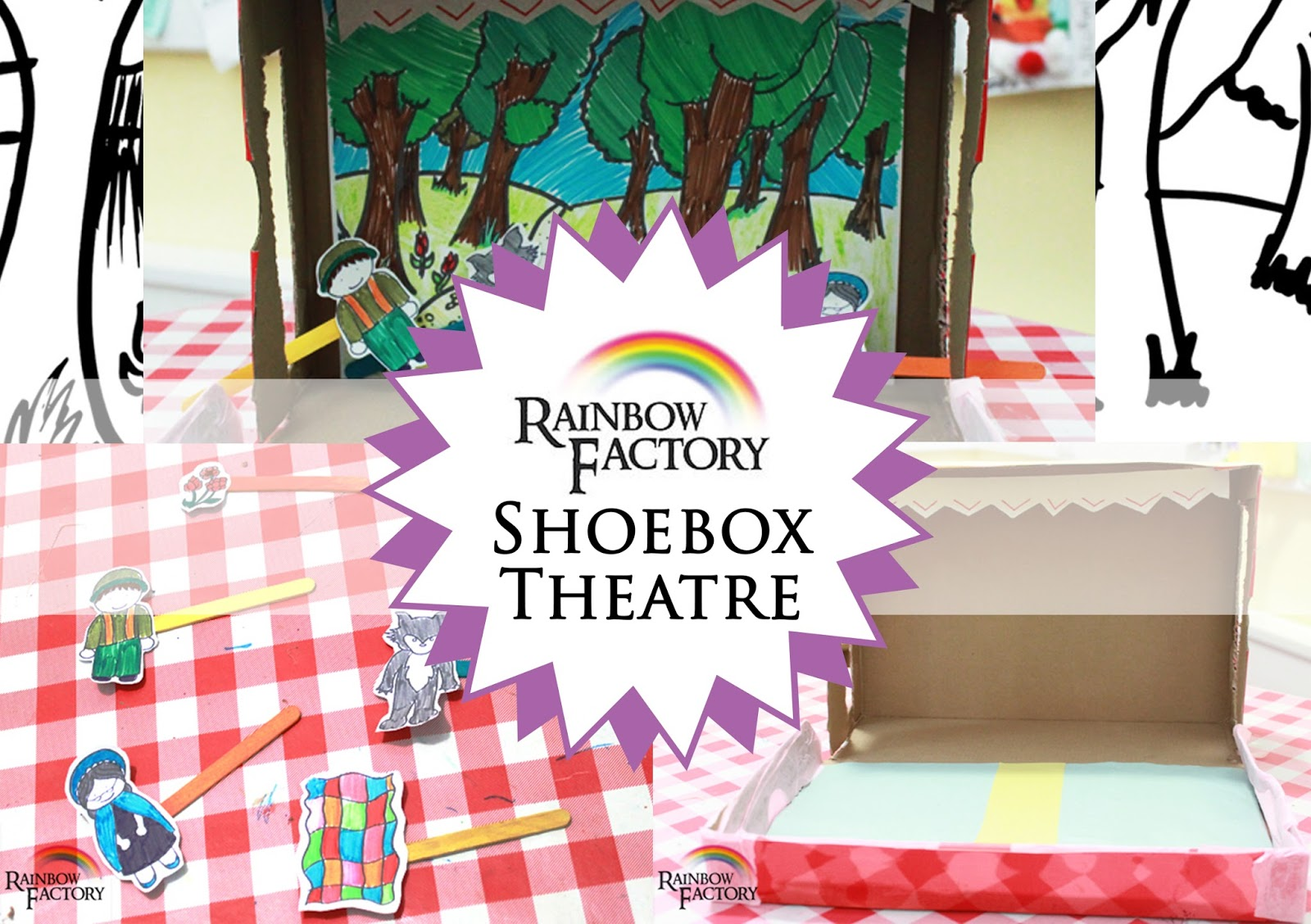 Little Red Riding Hood Shoe Box Theatre