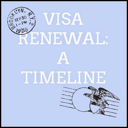 Visa Renewal: A Timeline