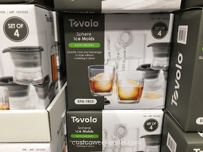 Keep your beverage cold with Tovolo Sphere Ice Molds